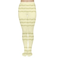Background Pattern Lines Women s Tights
