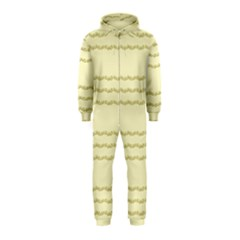 Background Pattern Lines Hooded Jumpsuit (kids)