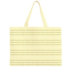 Background Pattern Lines Large Tote Bag