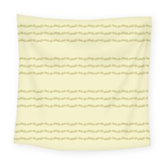 Background Pattern Lines Square Tapestry (large)