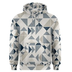 Geometric Triangle Modern Mosaic Men s Pullover Hoodie