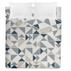 Geometric Triangle Modern Mosaic Duvet Cover Double Side (queen Size)