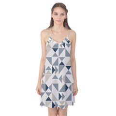 Geometric Triangle Modern Mosaic Camis Nightgown