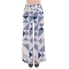 Geometric Triangle Modern Mosaic Pants