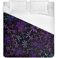 Retro Flower Pattern Design Batik Duvet Cover (king Size)