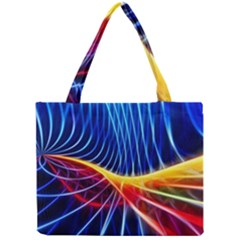 Color Colorful Wave Abstract Mini Tote Bag