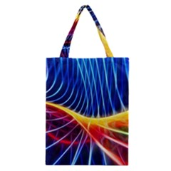 Color Colorful Wave Abstract Classic Tote Bag