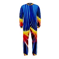 Color Colorful Wave Abstract OnePiece Jumpsuit (Kids)