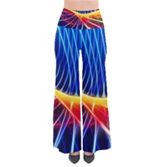 Color Colorful Wave Abstract Pants