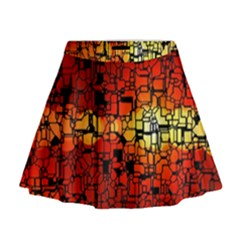 Board Conductors Circuits Mini Flare Skirt