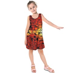 Board Conductors Circuits Kids  Sleeveless Dress