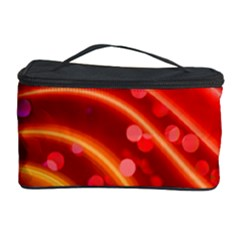 Bokeh Lines Wave Points Swing Cosmetic Storage Case