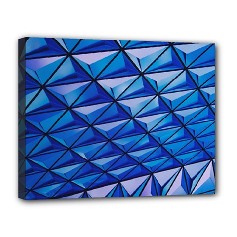 Lines Geometry Architecture Texture Canvas 14  X 11