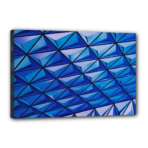 Lines Geometry Architecture Texture Canvas 18  X 12