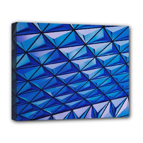 Lines Geometry Architecture Texture Deluxe Canvas 20  x 16
