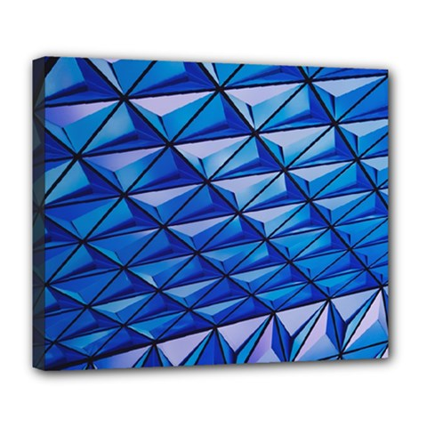 Lines Geometry Architecture Texture Deluxe Canvas 24  X 20