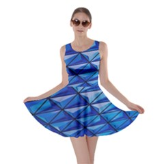 Lines Geometry Architecture Texture Skater Dress