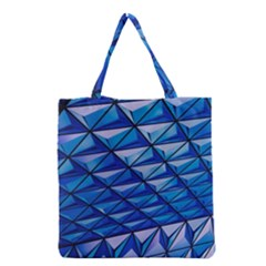 Lines Geometry Architecture Texture Grocery Tote Bag