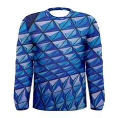 Lines Geometry Architecture Texture Men s Long Sleeve Tee