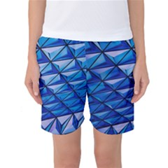 Lines Geometry Architecture Texture Women s Basketball Shorts