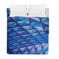Lines Geometry Architecture Texture Duvet Cover Double Side (full/ Double Size)