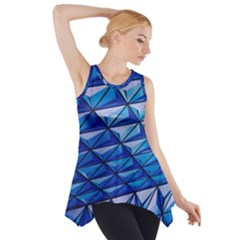 Lines Geometry Architecture Texture Side Drop Tank Tunic