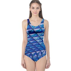 Lines Geometry Architecture Texture One Piece Swimsuit