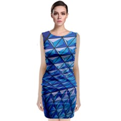 Lines Geometry Architecture Texture Classic Sleeveless Midi Dress