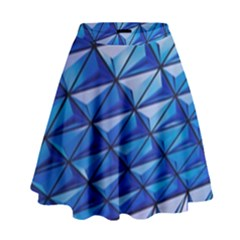 Lines Geometry Architecture Texture High Waist Skirt