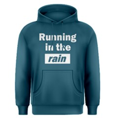 Running In The Rain   Men s Pullover Hoodie