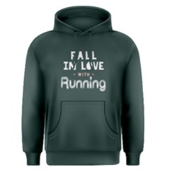 Fall in love with running - Men s Pullover Hoodie