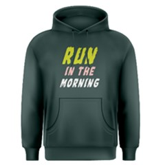 Run in the morning - Men s Pullover Hoodie