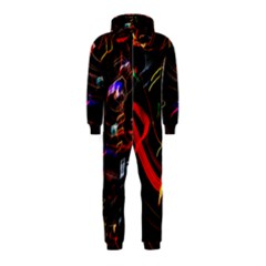 Night View Night Chaos Line City Hooded Jumpsuit (kids)