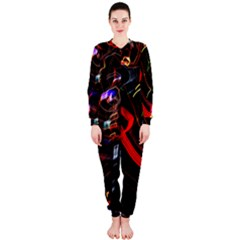 Night View Night Chaos Line City Onepiece Jumpsuit (ladies)