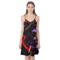 Night View Night Chaos Line City Camis Nightgown