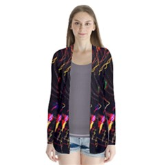 Night View Night Chaos Line City Cardigans