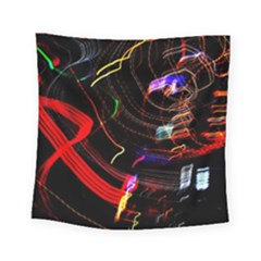 Night View Night Chaos Line City Square Tapestry (small)
