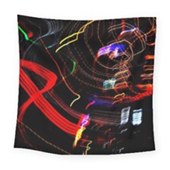 Night View Night Chaos Line City Square Tapestry (large)