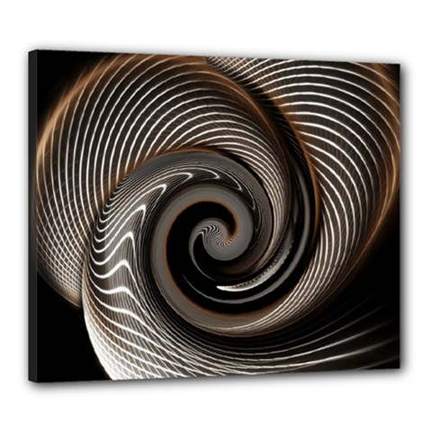 Abstract Background Curves Canvas 24  X 20