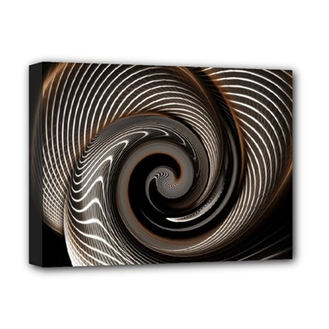 Abstract Background Curves Deluxe Canvas 16  X 12