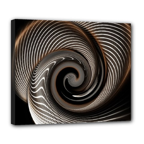 Abstract Background Curves Deluxe Canvas 24  X 20