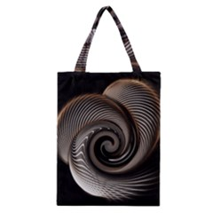 Abstract Background Curves Classic Tote Bag