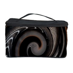 Abstract Background Curves Cosmetic Storage Case