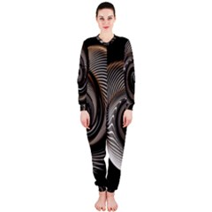 Abstract Background Curves OnePiece Jumpsuit (Ladies)