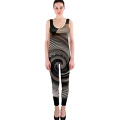 Abstract Background Curves Onepiece Catsuit