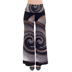 Abstract Background Curves Pants
