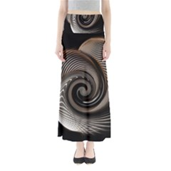 Abstract Background Curves Maxi Skirts