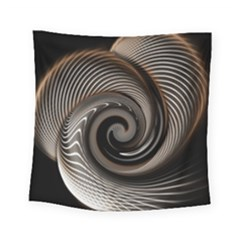 Abstract Background Curves Square Tapestry (small)