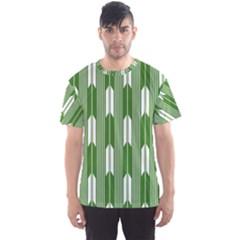 Arrows Green Men s Sport Mesh Tee
