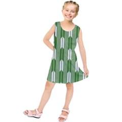 Arrows Green Kids  Tunic Dress